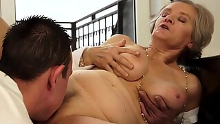 very old granny anal
