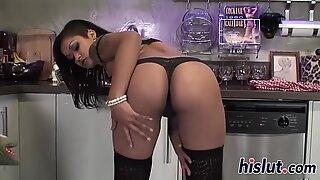 Kinky bitch spreads her hirsute cunt