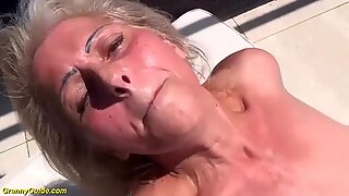Hairy 68 years old granny first interracial porn
