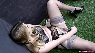 Astrid hairy pussy